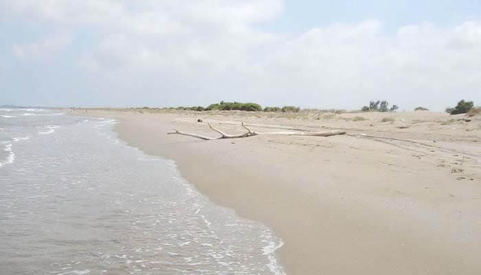 Playa La Balsa de La Arena