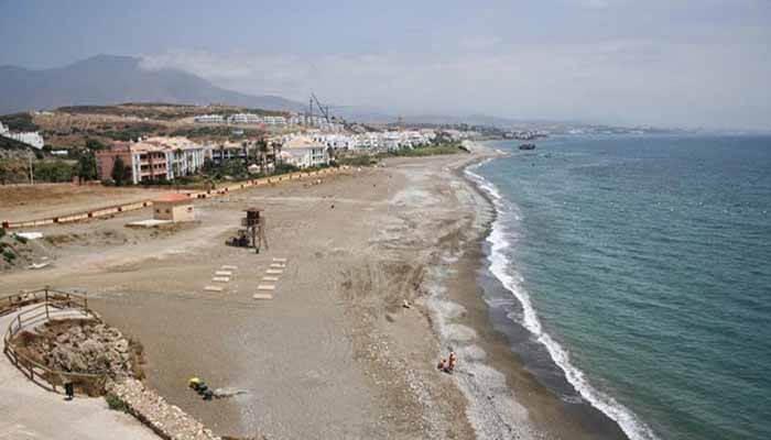Playa de Piedra Paloma