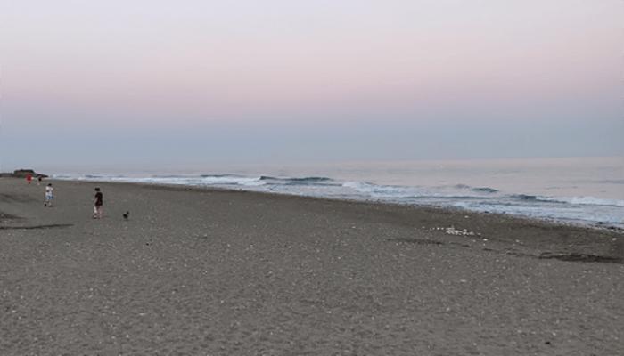 Playa canina de Torrox