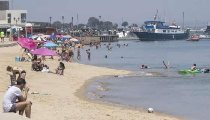 Playa de la Ría de Punta Umbría