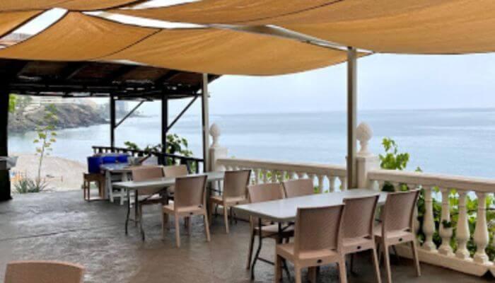 Restaurante El Parador *en terraza Playa