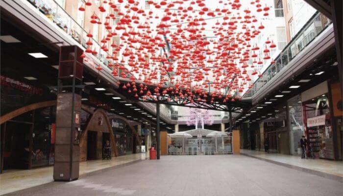Centro comercial Área Central