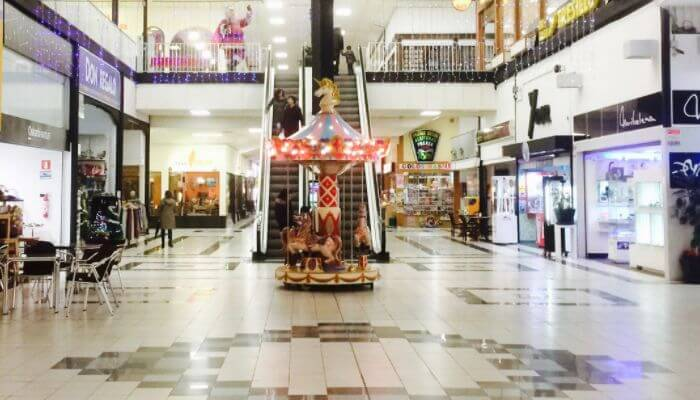 Centro comercial Mamut Oiartzun