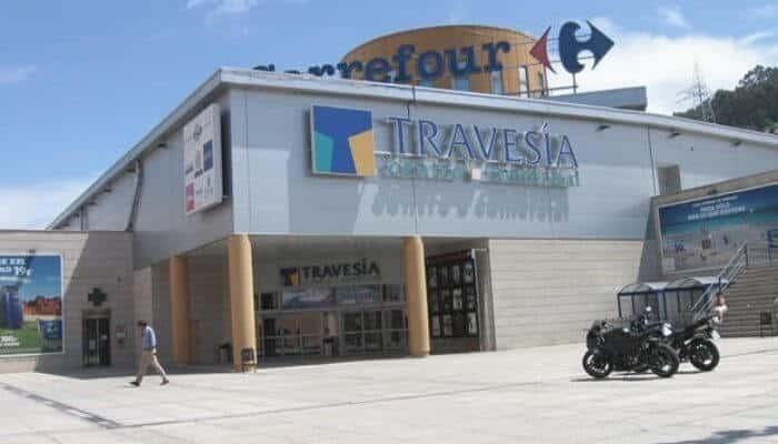 Centro comercial Travesía de Vigo
