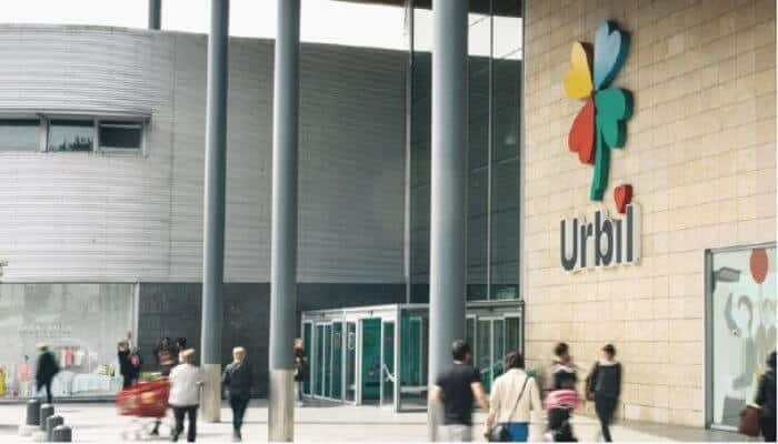 Centro comercial Urbil
